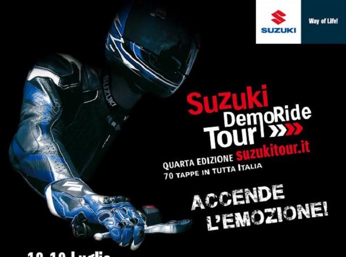 Suzuki DemoRide Tour 2015, questo week end grande spettacolo all'Autodromo di Imola