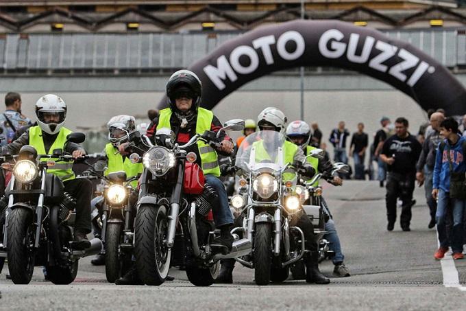 Moto Guzzi Open House 2015, oltre seimila cuori battono a Mandello del Lario