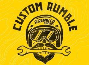 Ducati Scrambler Custom Rumble entra nel clou con l'unveil dei primi lavori