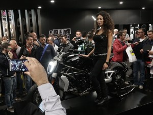 Ducati XDiavel, è lei la regina di EICMA 2015