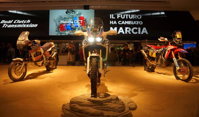 Honda Eicma 2015 - Africa Twin