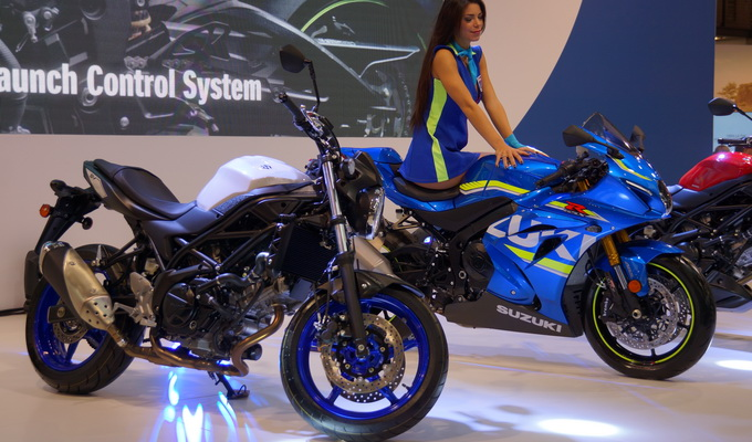 Suzuki – Eicma 2015: nuovo gixxer 1000, SV650 con 140 news e VanVan200 [VIDEO INTERVISTA]