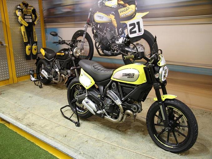 Ducati Scrambler Ohlins - EICMA 2015