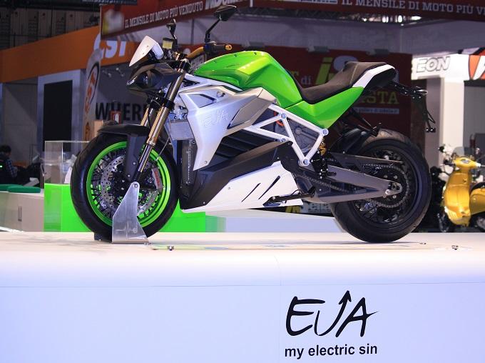 Energica EVA - EICMA 2015