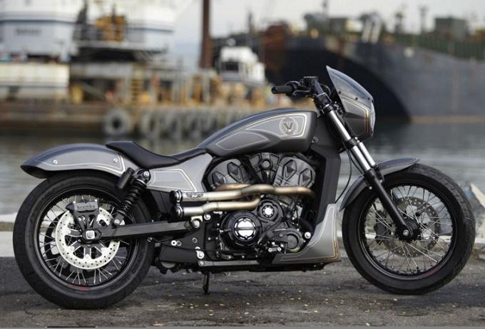 Victory Combustion Concept, 1200 cc che vogliono fare il futuro