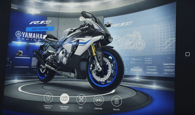 Yamaha my garage come creare un moto perfetta con la for Come costruire un garage distaccato