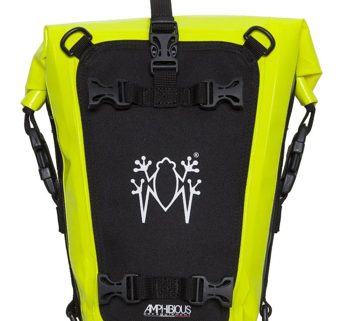 Multybag by Amphibious: la nuova borsa universale per le due ruote [FOTO]