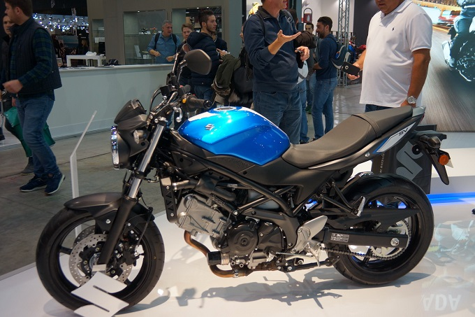 suzuki sv 650 abs una regina ai motodays 2016. Black Bedroom Furniture Sets. Home Design Ideas