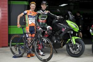 La Kawasaki Versys 650 è la moto ufficiale del Giro D'Italia 2016
