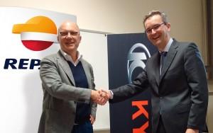 Kymco firma partnership con Repsol