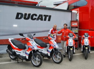KYMCO è fornitore ufficiale di Ducati Corse 2016