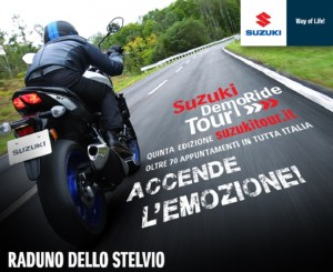 Suzuki Demoride Tour 2016, tappa speciale sullo Stelvio