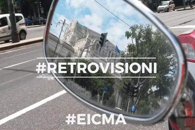 Eicma lancia #Retrovisioni