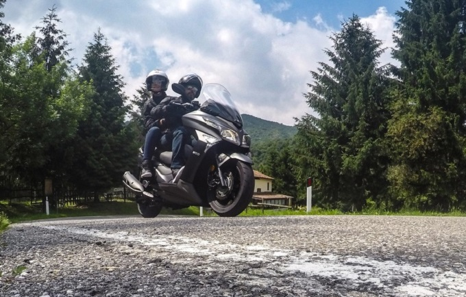 KYMCO X-Town 300i ABS, iniziano i test drive