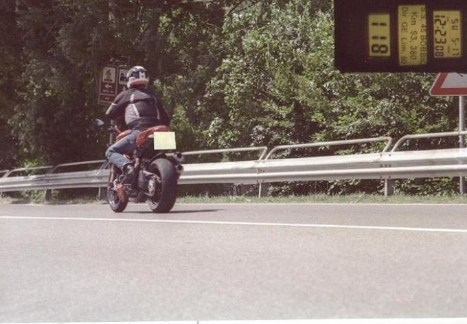 Autovelox in montagna contro gli incidenti sulle due ruote