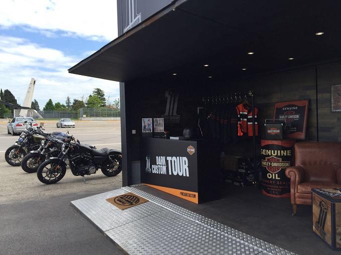 Harley Davidson Dark Custom Tour si chiude a Roma