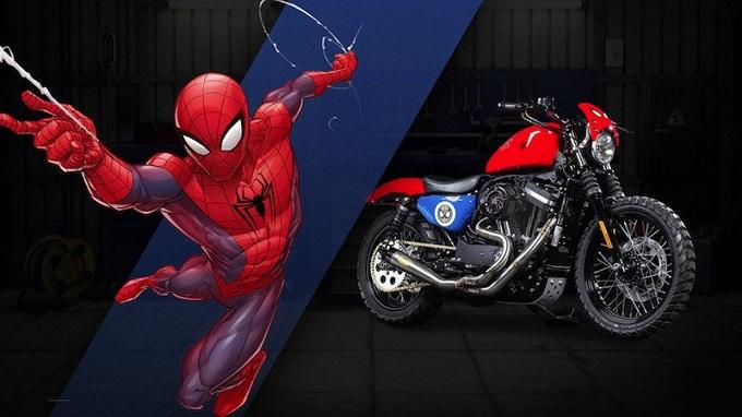 Harley Davidson e Marvel creano 27 moto ispirate ai supereroi più famosi [FOTO e VIDEO]