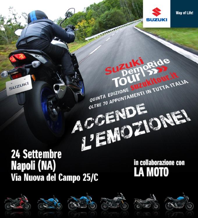 Suzuki DemoRide Tour, grande successo per l'edizione 2016
