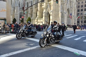 Le Moto Guzzi California 1400 aprono la parata del Columbus Day