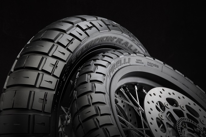 Pirelli Scorpion Rally STR, ad Intermot 2016 il nuovo pneumatico tassellato da enduro on/off