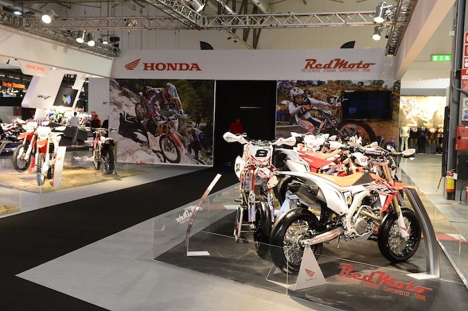 RedMoto, la gamma offroad Honda è ancora grande protagonista ad EICMA