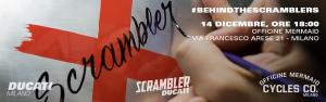 #BehindTheScramblers, ora potrete vedere i frutti del nuovo progetto