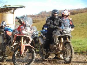 True Adventure Offroad Academy, a scuola di enduro con l'Africa Twin