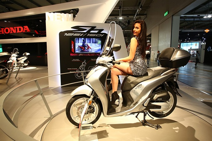 Honda SH125/150i ABS 2017: avviata la produzione presso la fabbrica di Chieti