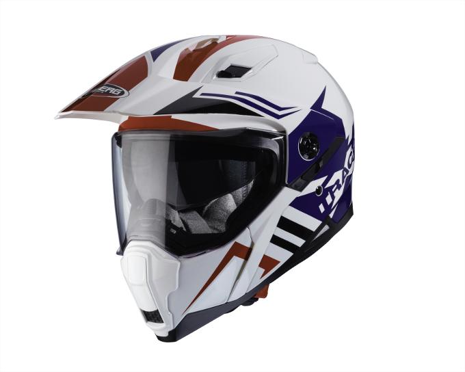 Caberg presenta il nuovo casco XTRACE LUX nel colore Honda