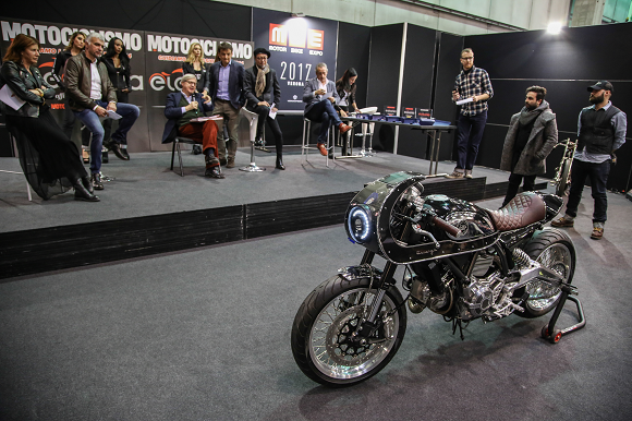 Scrambler Essenza by South Garage vince il primo Concorso di Eleganza al Motor Bike Expo