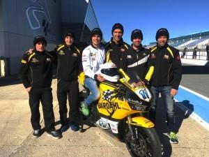 Caberg scende in pista nel campionato mondiale Supersport 2017