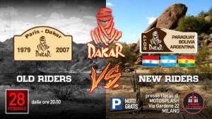 Dakar: Old Riders VS New Riders sul ring di Ciapa La Moto il 28 febbraio