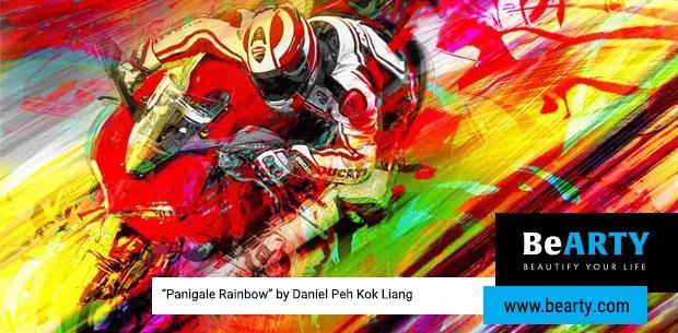 Ducati con BeArty per una collezione d'arte ispirata alle moto di Borgo Panigale