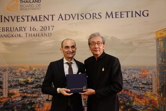 Claudio Domenicali è stato nominato Honorary Investor Advisor del Board Of Investment tailandese