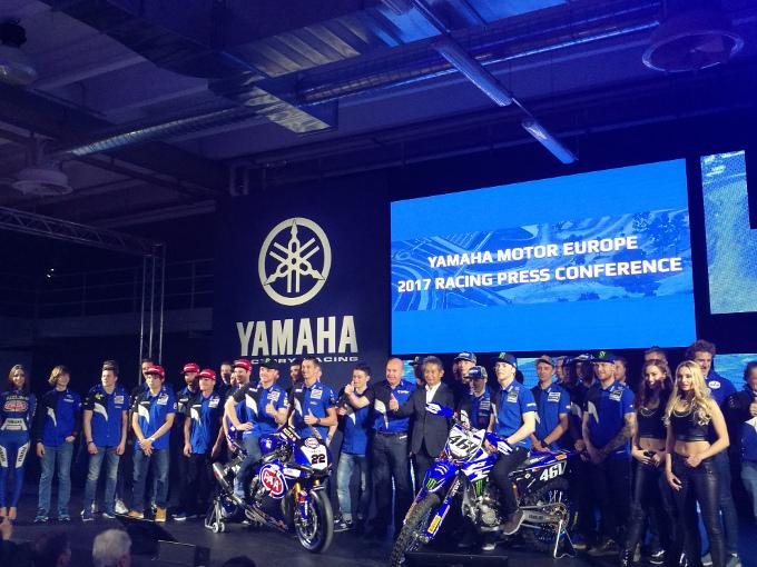 Yamaha Racing presenta i team e i piloti per la stagione 2017