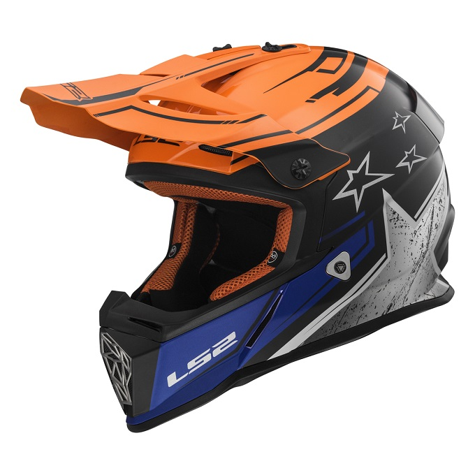 LS2 FAST MX437, Nuove accattivanti grafiche per il casco off-road