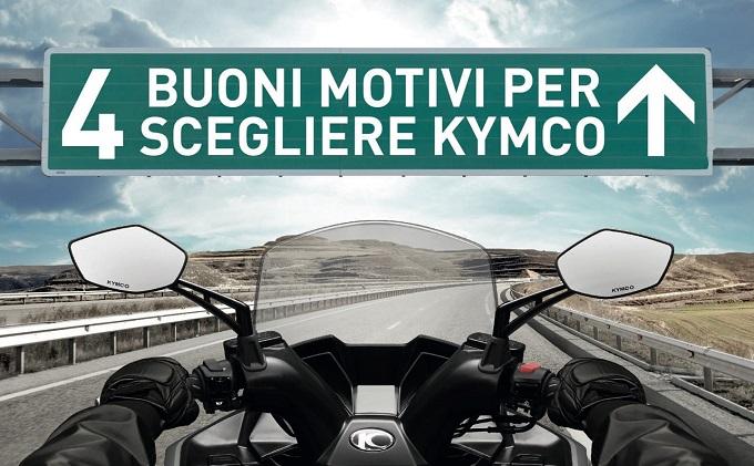 KYMCO prosegue la promozione 2017