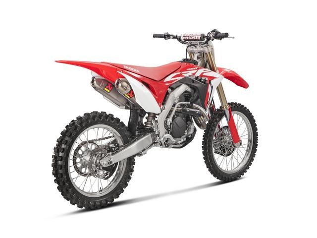 Akrapovič lancia tre nuovi prodotti per la Honda CRF 450 R 2017