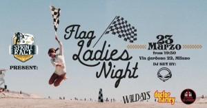 Flag Ladies Night il 23 Marzo con Ciapa La Moto