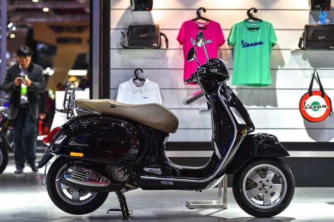 Piaggio è presente con le ultime novità dei suoi brand Vespa, Piaggio, Aprilia e Moto Guzzi ad AUTO SHANGAI 2017