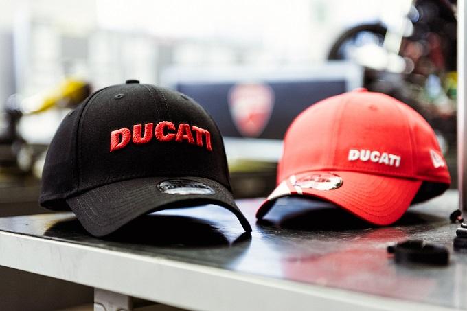 """New Era sigla un accordo di """"Official Headwear Licensee"""" con Ducati"""