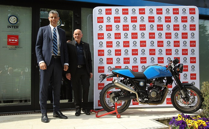 SWM MOTORCYCLES è Official Partner di F.C. INTERNAZIONALE