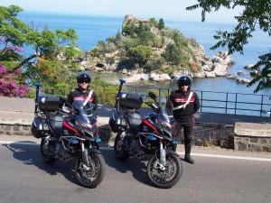 G7 di Taormina: debuttano le Ducati Multistrada 1200 a disposizione dei Carabinieri