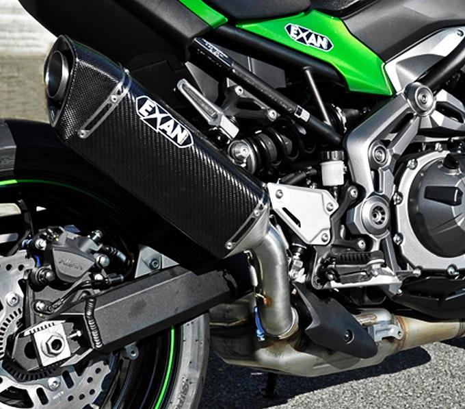 X-Black Ovale e X-GP: da EXAN due proposte per la Kawasaki Z900