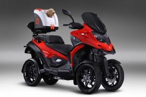 QUADRO inventa TWIST e porta in scooter anche gli amici a 4 zampe