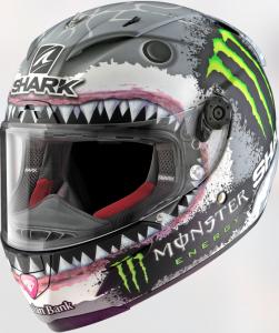 SHARK Helmets presenta un'edizione limitata e numerata del Race-R PRO Replica White