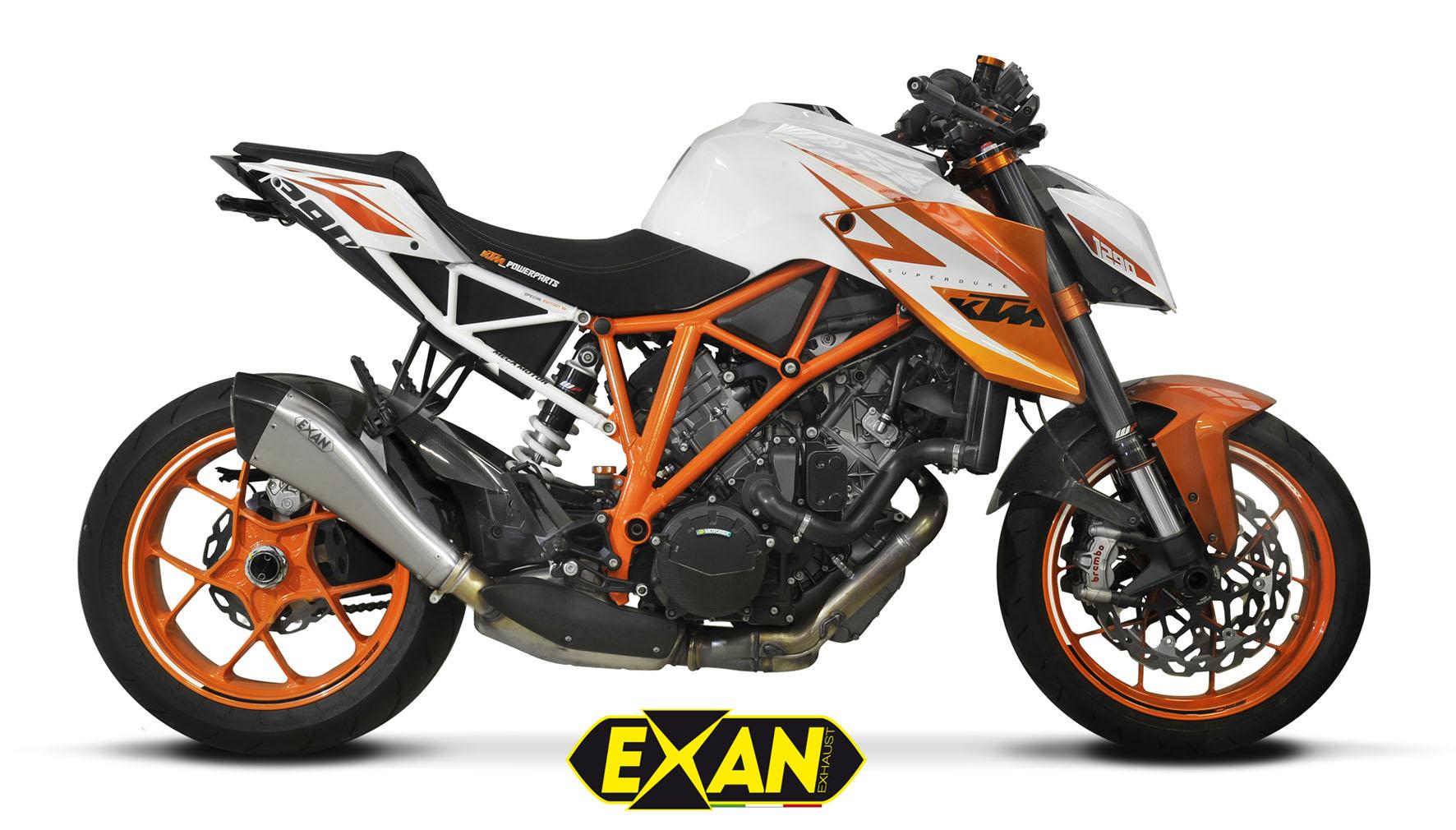EXAN - KTM SUPERDUKE 1290R-X-Black Evo (Inox-Sat. Chiaro)