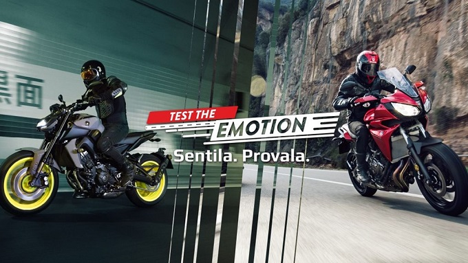 """Test The Emotion"": Misano chiama e Yamaha risponde"
