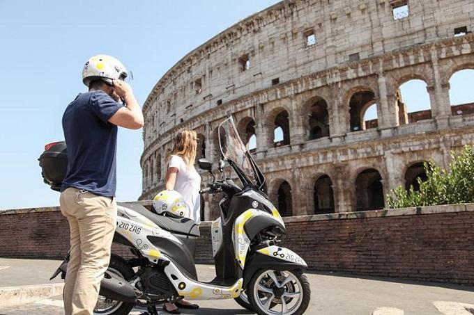 Il servizio Zig Zag Scooter Sharing con Yamaha Tricity annuncia l'arrivo su Milano