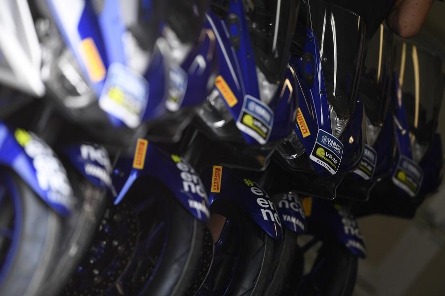 Pirelli e Yamaha insieme per il VR46 Master Camp